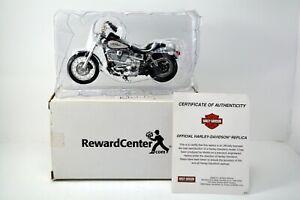 MAISTO HARLEY-DAVIDSON 2001 Dyna Low Rider Motorcycle #787044 COA