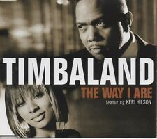 TIMBALAND feat Keri Hilson   The way I are   2 TRACK CD NEW - NOT SEALED