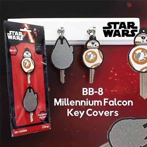 Star Wars The Force Awakens Millennium Falcon and Droid BB-8 Key Covers