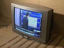 """Crt 27"""" Color Tv Apex Fr Controls & Av Back S-Video Coax Av Pick Up Only"""