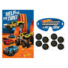 Hot Wheels Party Supplies Wild Racer Birthday PARTY GAME For Up To 8 Players