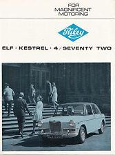 RILEY ELF-KESTREL-4/SEVENTY TWO BROCHURE, DATED 9/67, PUBLICATION No.2445.