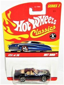 Hot wheels Classics Series 2 HOT BIRD 'Smokey and the Bandit' New/Card+protector