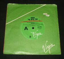 SPARKS 1980 AUSSIE VIRGIN 45 - WHEN I'M WITH YOU