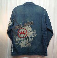 Men's JNCO Jeans Urban Denim Jean Jacket Coat Vintage 90's Size XL - 156