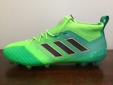 NEW! Adidas Ace 17.1 Primeknit FG Size 11.5 Soccer Cleats Green (BB5961)