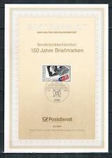 """Ersttagsblatt """"150 Jahre Briefmarken"""" Mi. 1479, ESSt Bonn 11.10.1990"""