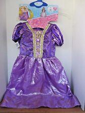 Disguise~DISNEY PRINCESS RAPUNZEL Halloween COSTUME & WAND~Girl Medium (7-8)~NWT