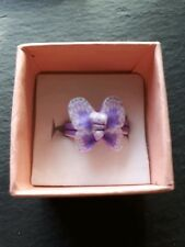 Brand new childs purple butterfly ring size K! Perfect kids gift! Fine jewellery