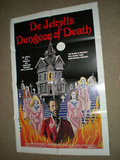 Original Theater Poster  DR.JEKYLL'S DUNGEON OF DEATH HORROR SHT