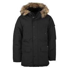 Carhartt WIP Anchorage Parka schwarz Herren Winterjacke black