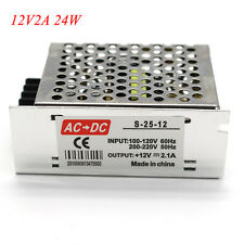 AC 110V/220V TO DC 12V 24V 48V Regulated Transformer Power Supply For LED Light