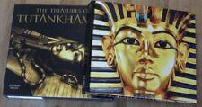The Treasures of Tutankhamun by Jaromir Malek Hardcover Complete in Slipcase