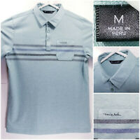 Travis Mathew Mens Medium Golf Shirt Polo Green