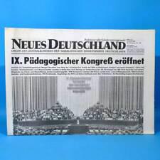 39 40 DDR Neues Deutschland August 1982 Geburtstag Hochzeit 37 41 42 SED 38