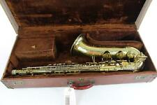 Buescher 400 Top Hat and Cane Tenor Saxophone GREAT PLAYER QuinnTheEskimo