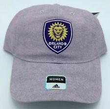 e042fe6a2f1 MLS Orlando City SC Adidas Womens Buckle Back Cap Hat Beanie Style  EZ51W  NEW