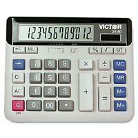 Victor 2140 Desktop Business Calculator 12-Digit LCD