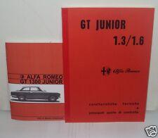 Uso e manutenzione Alfa Romeo GT Junior 1.3 1.6 + Manuale di officina meccanica