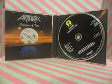 ANTHRAX Persistence Of Time CD