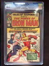 TALES OF SUSPENSE #58 CGC VF 8.0; OW; classic Captain America vs. Iron Man!