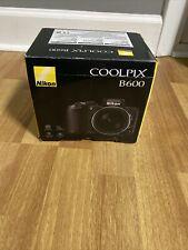 Nikon Coolpix B600 Point & Shoot Camera - Black Brand New Damaged Box