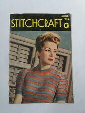 Vintage - Stitchcraft Magazine - June 1942 Cost 8d