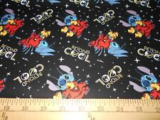 1 yard Disney Lilo & Stitch Beyond Cool Fabric