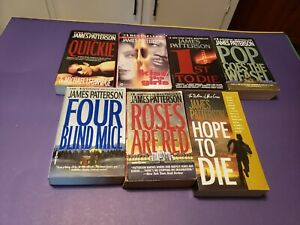 Book Lot: #4 7 James Patterson Novels Kiss the Girls, 1st to Die, MORE MORE