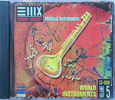 EMU E-MU SAMPLER Sound CD EIII EIII ESI e4 E-IV émulateur World instruments vol.5