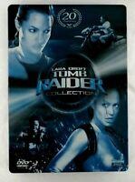 Tomb Raider Lara Croft Collection DVD Cofanetto 2 Dischi SB Film Cinema Italiano