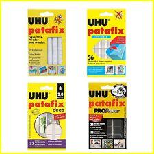 UHU Patafix Gluepads Adhésif amovible - Sélectionner 80 - 56 - 32 - 21 Pads