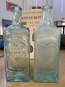 L@@K!!!! DR. KILMER'S OCEANWEED HEART REMEDY BOTTLE (RARE) Left Bottle Only!!!!!