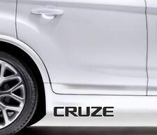 2x Side Skirt Stickers Chevrolet Cruze Premium Qaulity Graphics Decals VL11