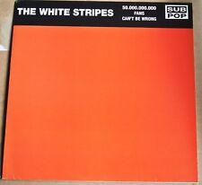 LP the WHITE STRIPES 50.000.000.000 fans can't be wrong VINYL VINILO WHITE LABEL