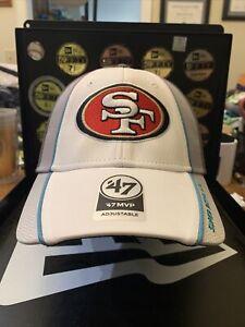 "San Francisco 49ers Brand 47' MVP ""2019 On field"" Super Bowl Adjustable Hat"
