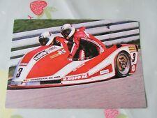 Rolf BILAND & Ken WILLIAMS 1976 Motor Cycle Road Racing Postcard by Vanderhout