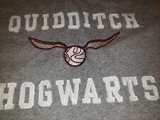 Universal Studios Harry Potter Hogwarts Crest T-shirt Size L quidditch