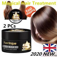 2PCs 50ML Magical keratin Hair Treatment Mask 5Second Deep Hair Root Repair UK