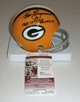 PACKERS Ken Bowman signed mini helmet w/ 1964-73 Packer JSA COA AUTO Autographed