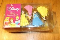 Vintage Disney Princess Shower Hooks Belle Cinderella Snow White Jay Franco
