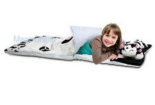 Cow Design Kid's Polyester Sleeping Bag 125cm x 56cm with Pillow