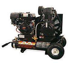Mi-T-M 7.5-HP 8-Gallon Gas Two-Stage Wheelbarrow Air Compressor w/ Honda Engine