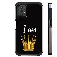 FUSION Case For Samsung A02S A12 A32 A52 A11 A21 Phone Cover I AM QUEEN