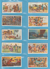 PEOPLE - WILLS NEW ZEALAND - SCARCE SET OF 25 PIRATES & HIGHWAYMEN CARDS -  1925