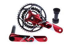MOWA Five Mountain Bicycle Bike Triple Cycling Crankset 44/32/22t 170mm Red