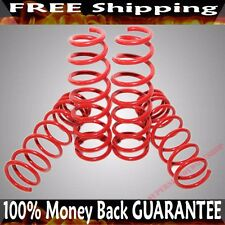 "RED Coil Lowering Spring Set 2"" Drop for 92-00 Honda Civic 94-01 Acura Integra"