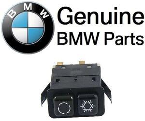 For BMW 3 Series E30 318i 318is 325e 325es 325i 325is A/C Control Switch GENUINE