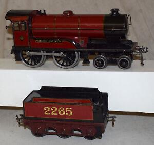 Vintage Bassett and Lowke Princess Elizabeth Clockwork Locomotive 2265 - O Gauge
