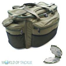 Fishing Carryall Large Tackle Bag Holdall Carp Mesh Pockets FREE TACKLE BOX